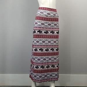 Rue 21 Boho Maxi Skirt Womens Small